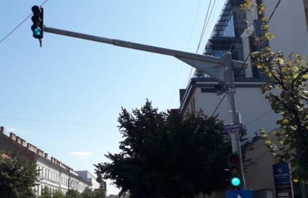 Primul radar fix din Cluj-Napoca este deja în teste pe strada Dorobanților