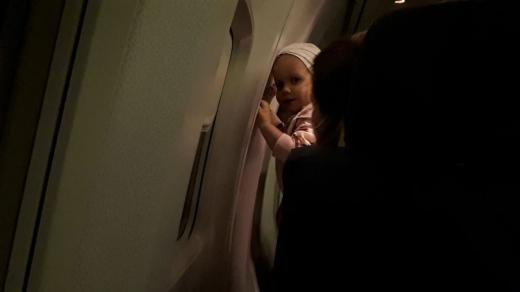 Ioana în zborul vieții sale, întorcându-se din Bologna