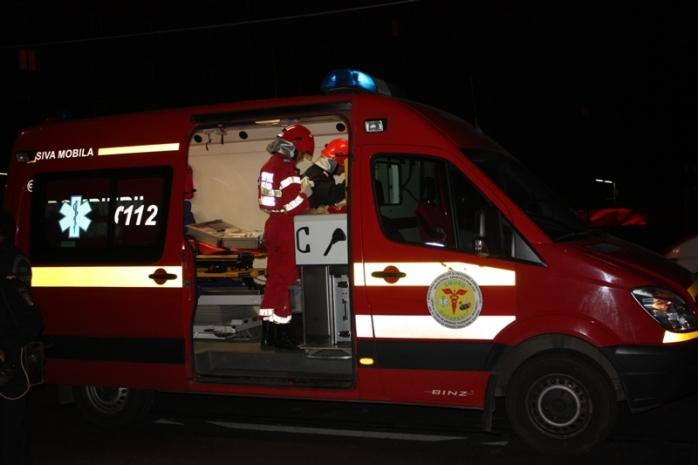 Accident rutier lângă Căpușu. 2 persoane au fost rănite!