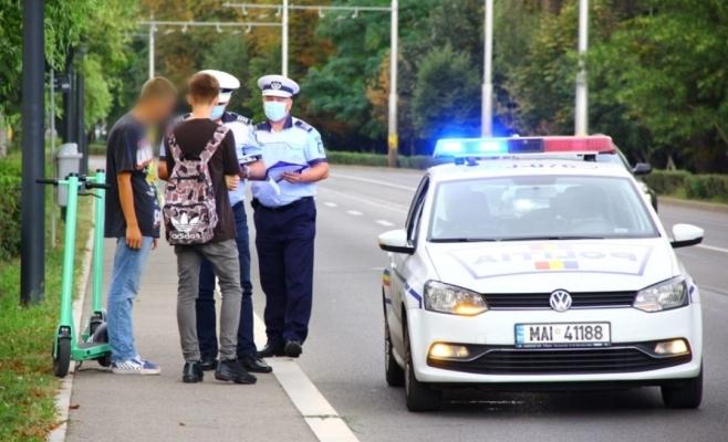 VIDEO. Poliția clujeană, mesaj pentru șoferii și trotinetiștii din oraș