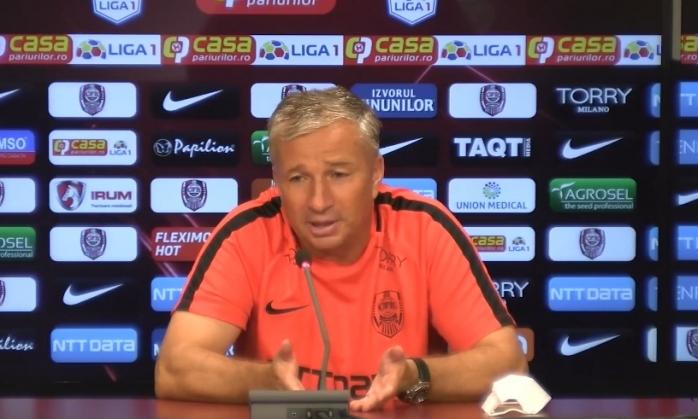 Sunt Dan Petrescu, un prost, un nimeni! Antrenorul CFR-ului s-a DEZLĂNȚUIT și dă cu pumnul în masă înaintea partidei cu Dinamo Zagreb