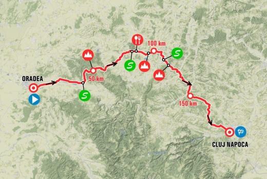 Încă două săptămâni până la debutul Turului României. A doua etapă a competiției are finish la Cluj-Napoca