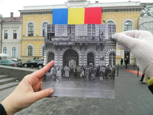 Cum arăta fosta Primărie comunistă a Clujului în '89?