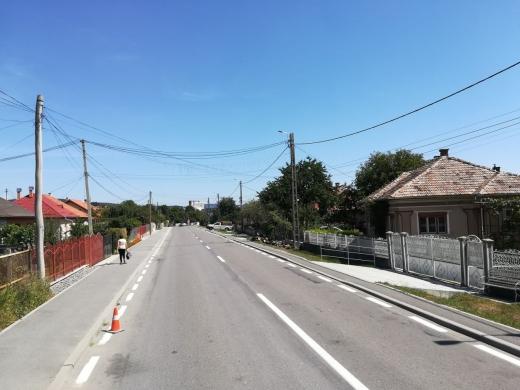 După asfaltare, drumurile din Cluj vor fi marcate. În ce zonă sunt lucrări?