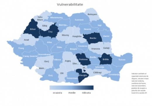 """Județul Cluj, considerat de INSP """"vulnerabil"""" privind infecțiile cu CORONAVIRUS"""