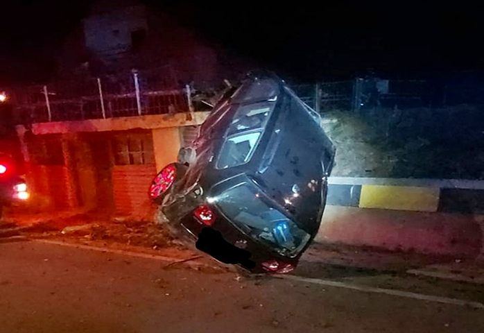Un tânăr de 24 de ani din Cluj a fost rănit într-un accident, în Bistrița-Năsăud - FOTO