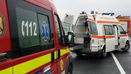 ACCIDENT rutier cu doi răniți într-o localitate din Cluj