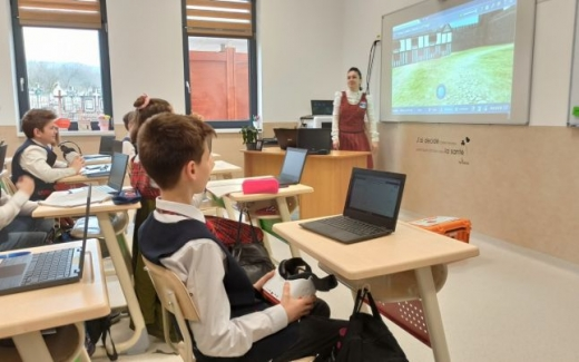 """Prima școală """"smart"""" din România se află într-un sat din inima Transilvaniei"""