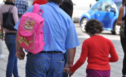 Un bărbat a refuzat ca fiica sa să poarte mască și să se dezinfecteze, la școală. Soluția găsită de autorități