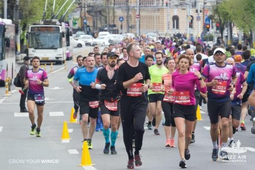 Maratonul Wizz Air din Cluj se va desfșura virtual în acest an