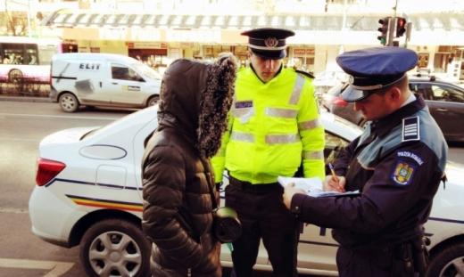 Polițiștii clujeni fac controale