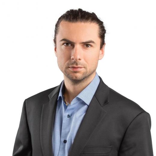 Arpad Sebesi este candidat al USR-PLUS pentru Consiliul Local al municipiului Cluj-Napoca. Foto: USR-PLUS
