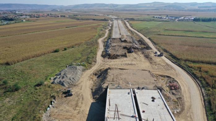 Pe Autostrada Sebeș-Turda, lotul 2, se demolează lucrările executate anii trecuți! A10 ar fi trebuit să fie gata în noiembrie - VIDEO
