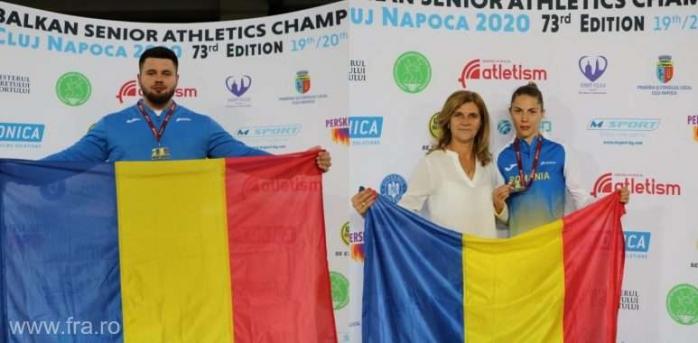 13 medalii pentru România în prima zi la Campionatele Balcanice disputate la Cluj-Napoca