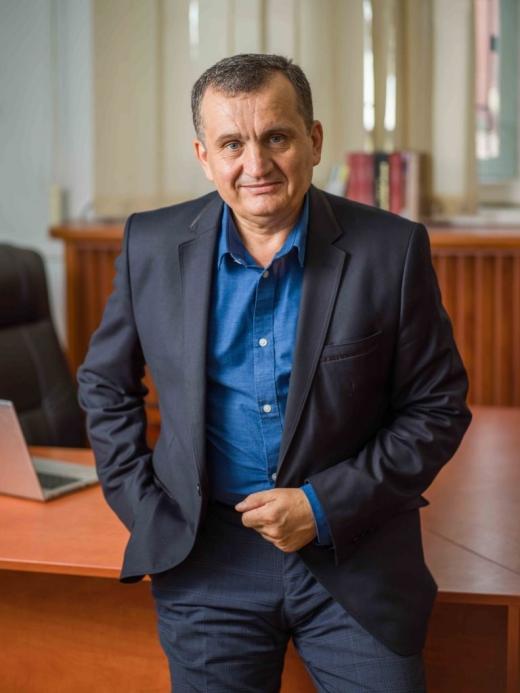 Avram Fițiu, candidatul Partidului Mișcarea Populară (PMP), la Primăria municipiului Cluj-Napoca
