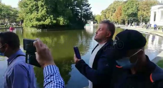 "Ludovic Orban, apostrofat la Cluj: ""Ați mințit poporul. Ne-ați pus botniță"""
