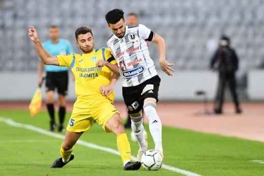 "Costel Enache, victorie la debut pe banca lui ""U"" Cluj"