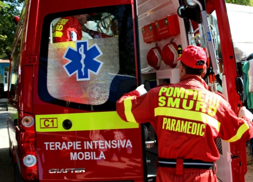 accident-in-turda-o-femeie-a-fost-transportata-la-spital