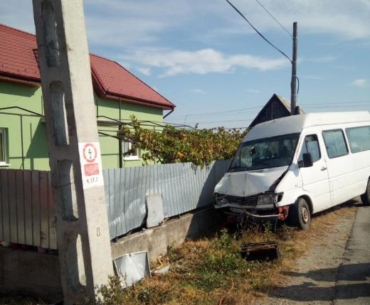Accident grav la Răscruci!  A fost distrus un branșament al rețelei de distribuție a gazului