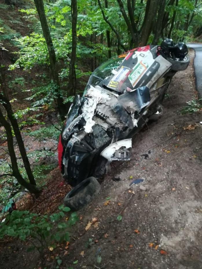 Încă un accident la Transilvania Rally! Proba Specială Dângău a fost anulată. FOTO