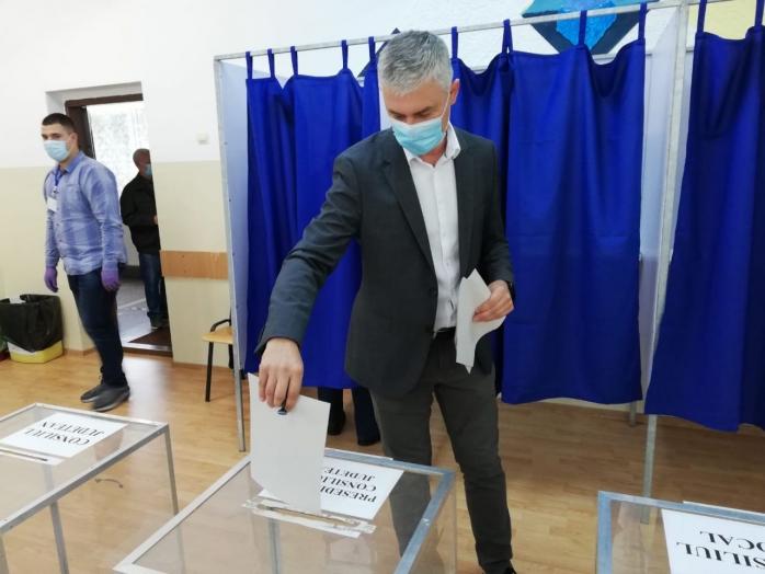 Cătălin Sălăgean, candidatul USR Plus, a votat și el la alegerile locale: