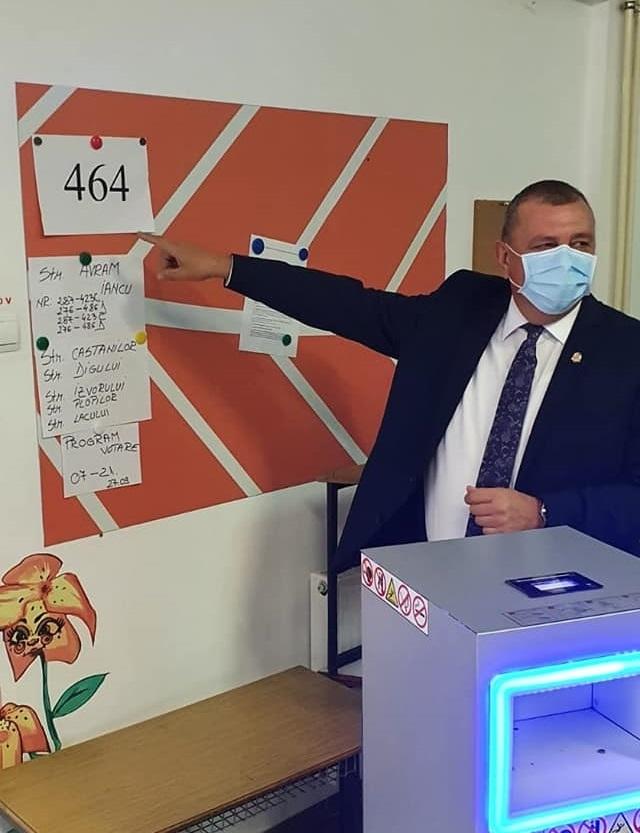 Horia Șulea: Am votat pentru binele tuturor floreștenilor