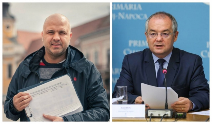 """Ungureanu: """"Îl felicit pe Emil Boc. I-am scris de dimineață un mesaj, așa cum se face în fairplay-ul politic"""""""