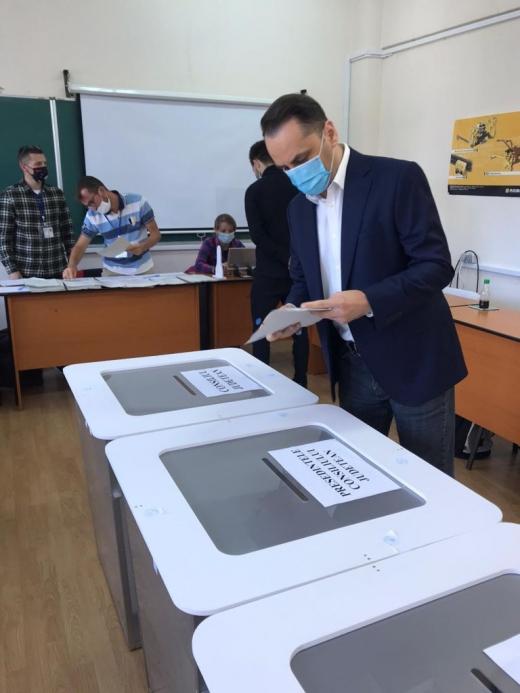 """Vasile Cristian Lungu (PMP): """"Am votat astăzi să avem pentru prima dată o coloristică politică mai bogată la Cluj"""""""
