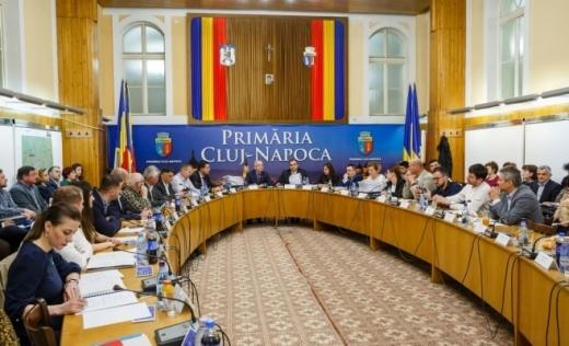 Câte mandate de consilieri locali are fiecare partid în zona metropolitana și în municipiile din județul Cluj?