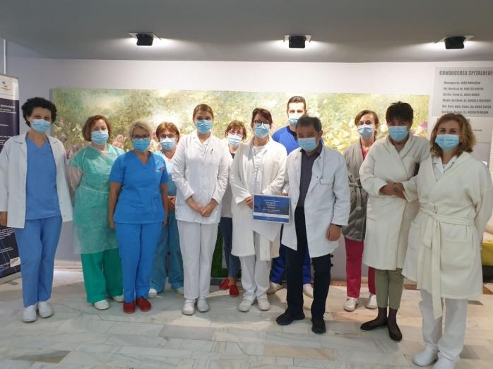 Spitalul de Boli Infecțioase Cluj s-a clasat între finaliști și a fost premiat în competiția Romanian Healthcare Awards 2020