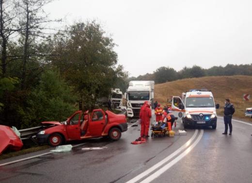 ACCIDENT GRAV în județul Cluj! O persoană a decedat