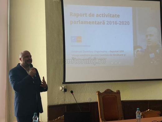 Emanuel Ungureanu și-a prezentat raportul de activitate în perioada 2016-2020
