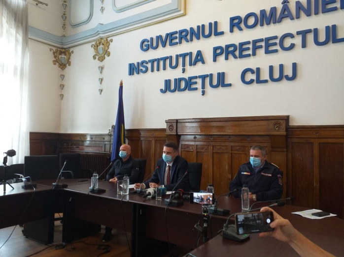 """Situație GRAVĂ la Cluj: Abrudan """"Având în vedere numărul mare de cazuri  ne pregătim să mai deschidem o secție de Terapie Intensivă"""""""