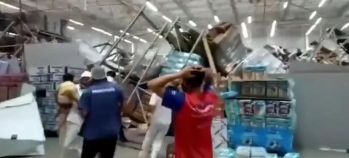 Accident MORTAL la supermarket!