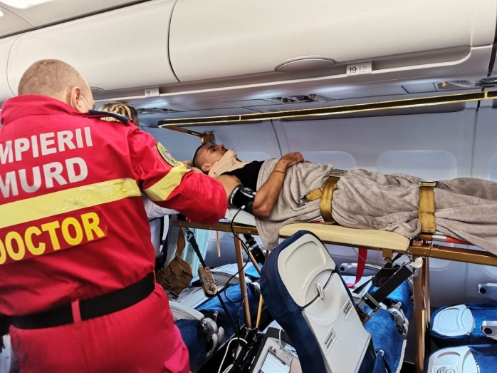 Un campion modial la karate pleacă din Cluj spre Barcelona pentru a putea păși din nou. Asociația Blondie: Nu e vorba de bani, e vorba de omul care are nevoie de acest zbor ca să trăiască