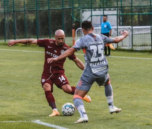 CFR Cluj a câștigat amicalul cu UTA Arad