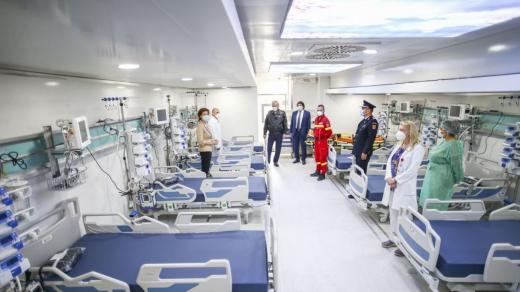 Clujul, doar pe 7 locul la numărul de paturi ATI disponibile pentru bolnavii de COVID-19