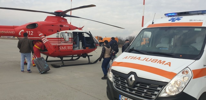 Nouă infectări cu COVID19 la personalul medical de pe ambulanță în Cluj