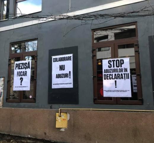 """Protest pe Piezișă. Proprietarii localurilor, nemulțumiți de ultimele decizii. """"Vrem colaborare, nu abuzuri!"""" FOTO"""