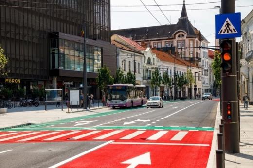FOTO. Cum arăta cel mai modern bulevard din Cluj-Napoca, în urmă cu o jumătate de secol?