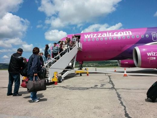 Aeroportul Cluj, printre cele mai profitabile pentru compania Wizz Air, în 2019