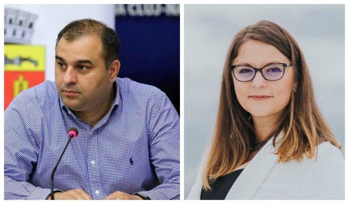 Dan Tarcea și Olah Emese, realeși viceprimari ai Clujului. Alianța USR-Plus a propus propriul vice