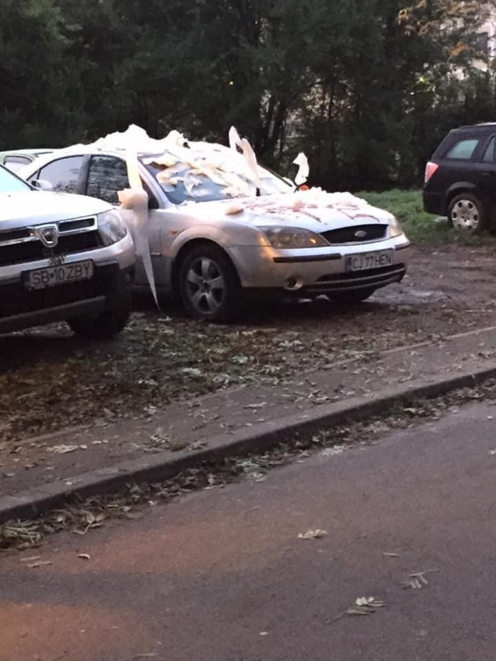 Poza Zilei. Ce se întâmplă dacă parchezi mașina pe locul altcuiva în Mănăștur