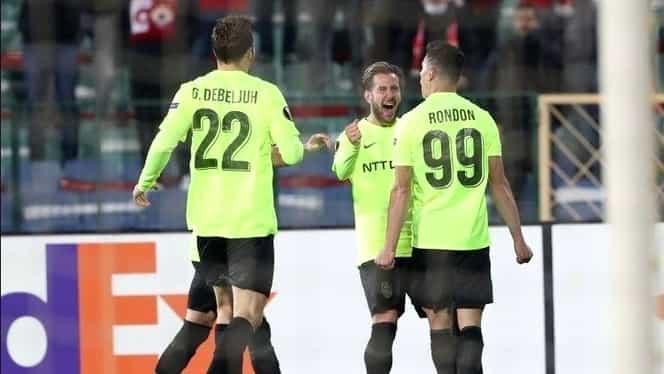 CFR Cluj aduce trei puncte mari de peste Dunăre! Campionii au învins ŢSKA Sofia
