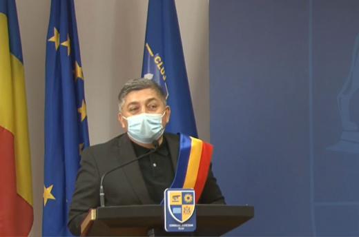 Președintele CJ Alin Tișe și consilierii județeni au depus jurământul - VIDEO