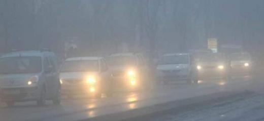 Semnal de alarmă pentru șoferi! COD GALBEN de ceață abundentă la Cluj