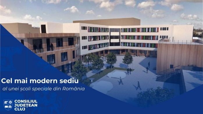 Cea mai modernă școală specială din țară va fi construită la Cluj