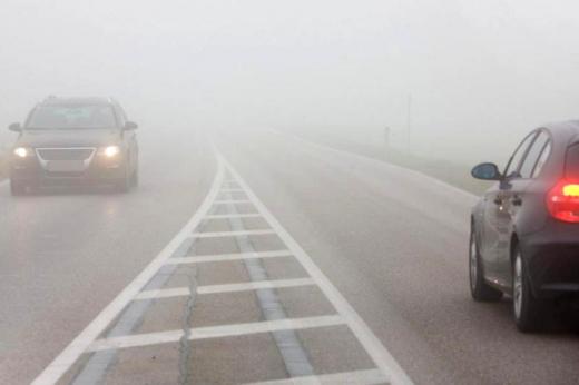 Atenție șoferi! Cod GALBEN de ceață în județul Cluj