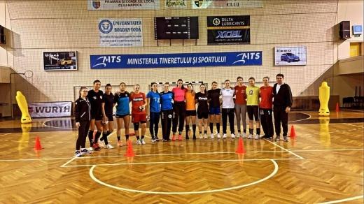 """Handbalistele de la """"U"""" Cluj au pierdut primul meci din noul sezon al Ligii Florilor"""