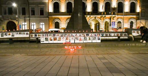 Comemorare victime Colectiv. FOTO: Paul Gheorgheci/Monitorulcj.ro